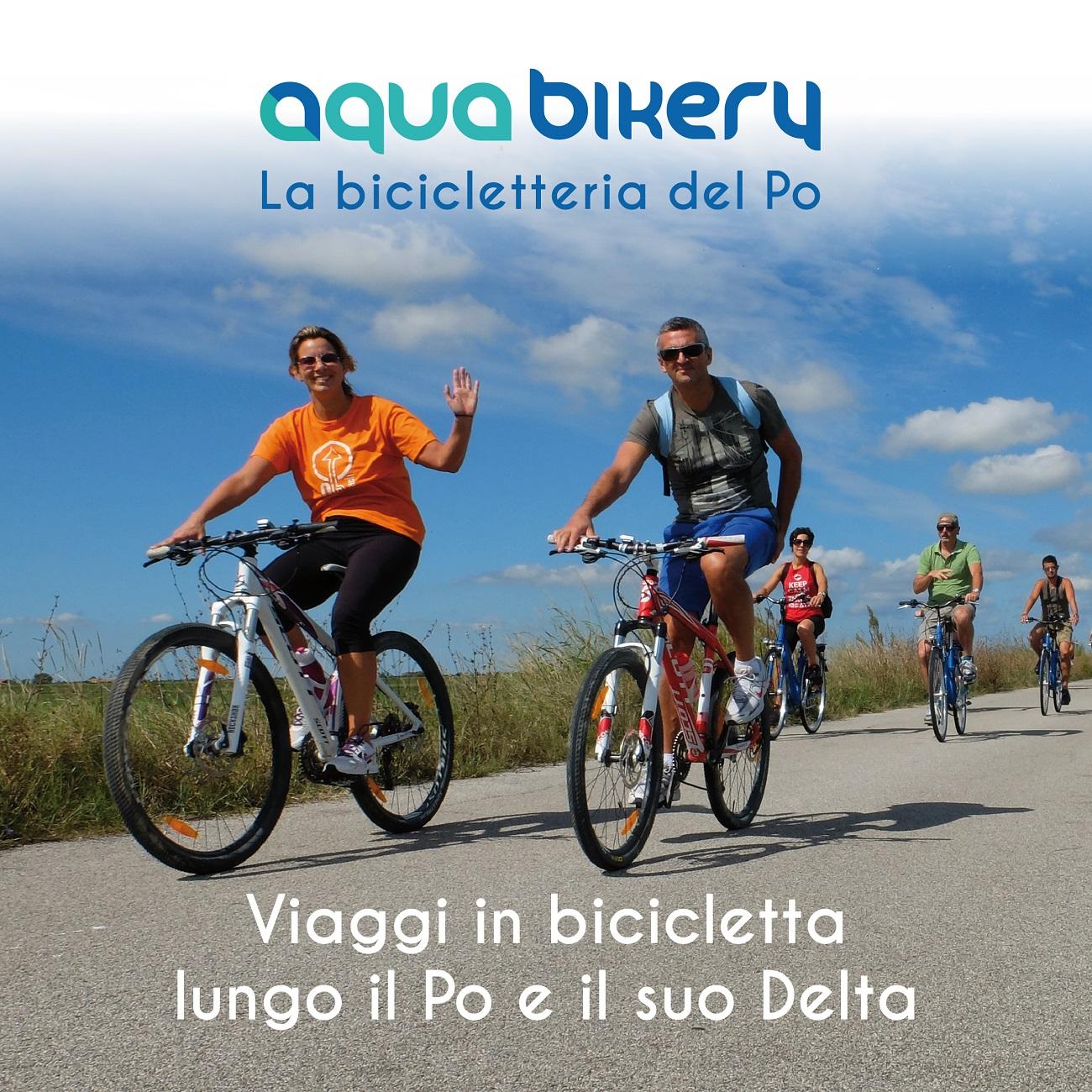 AQUABIKERY la bicicletteria del Po